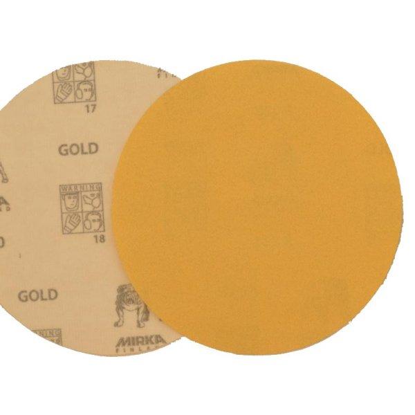 Gold Schleifscheiben P220, D150 mm, 100 Stk der Serie SP151 Bild1