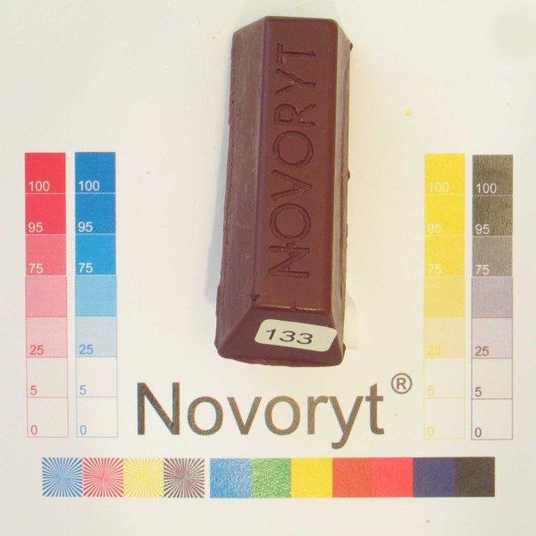 NOVORYT® Schmelzkitt - Farbe 133 Kastanienbr 1 Stange der Serie HW003 Bild1