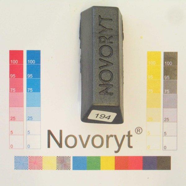 NOVORYT® Schmelzkitt - Farbe 194 antrazitgra 5 Stangen der Serie HW003 Bild1