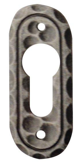 Rosette 73 x 30 mm, Eisen Bild1