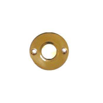 Drückerrosette Messing Durchmesser: 50 mm Bild1