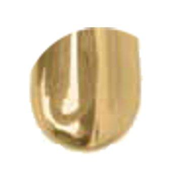 Fenstergriff FG022 Messing vernickelt matt Grifflänge: 110 mm inkl. Zubehör Bild1