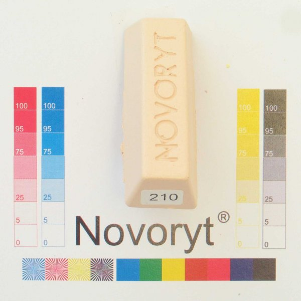 NOVORYT® Schmelzkitt - Farbe 210 5 Stangen der Serie HW003 Bild1