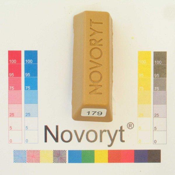 NOVORYT® Schmelzkitt - Farbe 179 braunbeige 5 Stangen der Serie HW003 Bild1