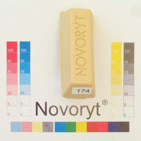NOVORYT® Schmelzkitt - Farbe 174 beige 1 1 Stange der Serie HW003 Bild1