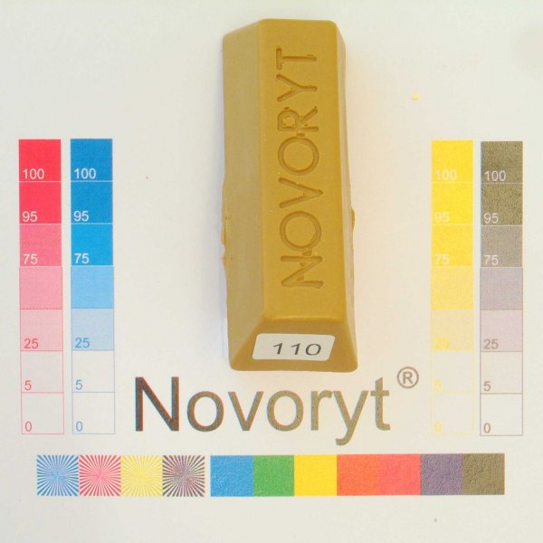 NOVORYT® Weichwachs Farbe 010 1 Stange der Serie WW003 Bild1