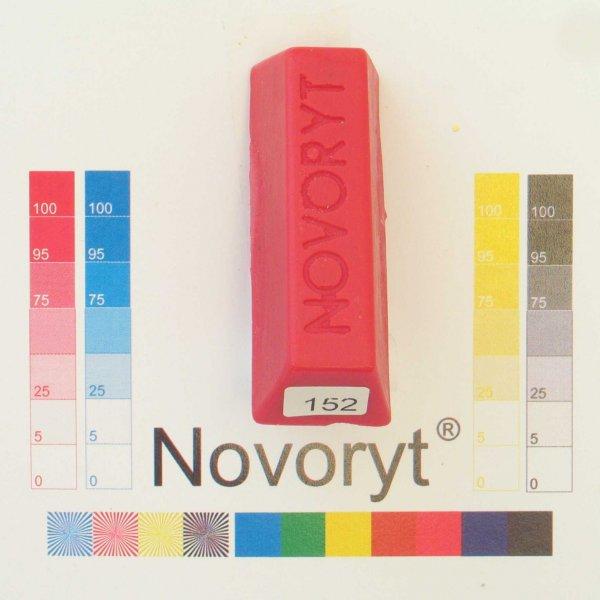 NOVORYT® Schmelzkitt - Farbe 152 rot 1 Stange der Serie HW003 Bild1