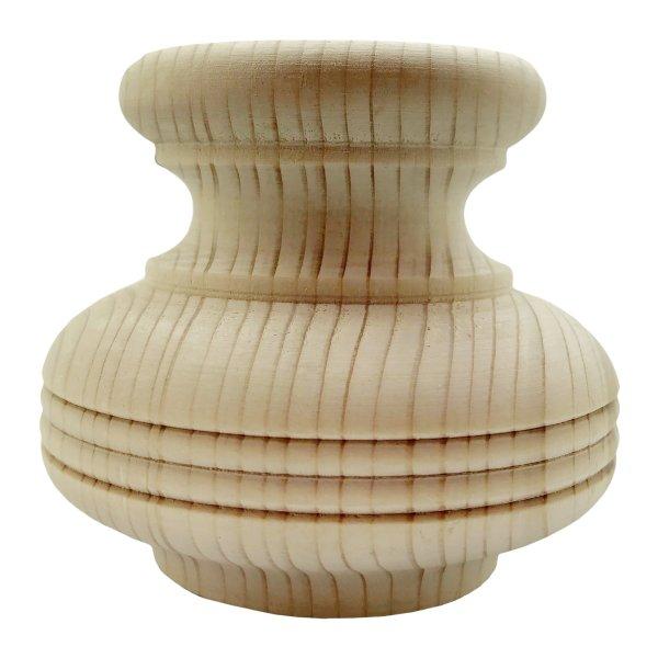 Möbelfuß 80x92 mm der Serie HF010 Bild1