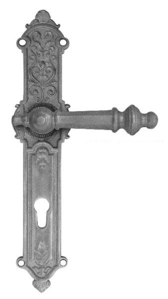 Türschild, Maße: 300 x 63 mm, Messing Bild1