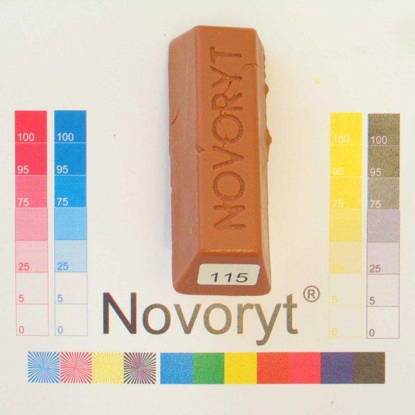 NOVORYT® Weichwachs Farbe 015 Kirschbaum dun 5 Stangen der Serie WW003 Bild1