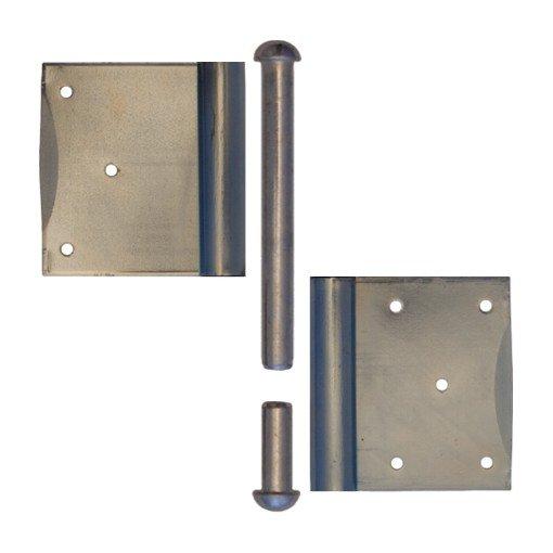 Einstemmband Blendrahmen loser Stift 160mm li/re - Eisen verzinkt der Serie TB007 Bild1