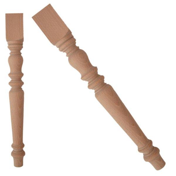 Holz Stuhlbeine Länge 450 mm, 45 x 45 mm Bild1