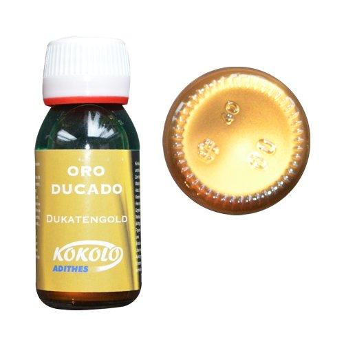 Flüssiggold 60ml Dukatengold, für alle Oberflächen und Materialien geeignet, kein Oxidieren Bild1